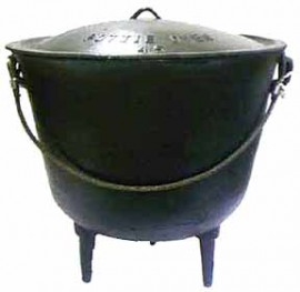 Cast Iron Cauldron size 33
