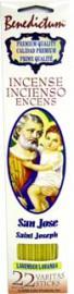 BENEDICTUM STICK INCENSE ST. JOSEPH