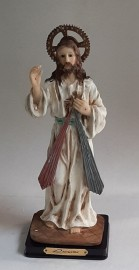 """Divine Mercy 12""""H Statue/The Luciana Collection"""