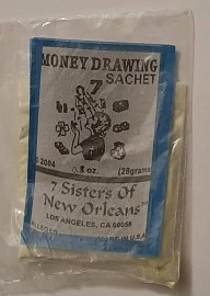 7 Sisters Of New Orleans Sachet Powder  / Money Drawing