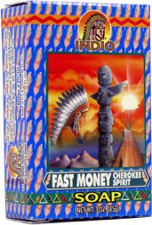 INDIO SOAP FAST MONEY BLESSING CHEROKEE SPIRIT