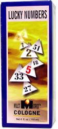 MULTI ORO COLOGNE LUCKY NUMBER    4 fl. oz