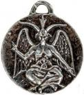 Sabbatic Goat/The God of the Witches-Silver
