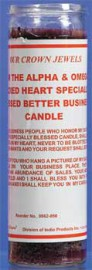 SACRED HEART SPECIALLY BLESSED BETTER BUSINESS - PURPLE