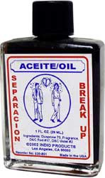 SEPARATION PSYCHIC OIL