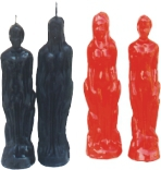 Figure Cermonial Candles