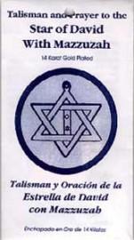 STAR OF DAVID & MAZZUZAH