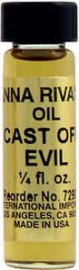 CAST OFF EVIL Anna Riva Oil qtr oz