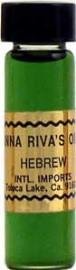 HEBREW Anna Riva Oil qtr oz