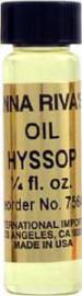 HYSSOP Anna Riva Oil qtr oz