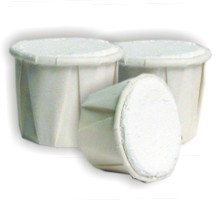 CASCARILLA WHITE EGGSHELL POWDER - Box 100 Cups