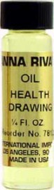 HEALTH DRAWING Anna Riva Oil qtr oz