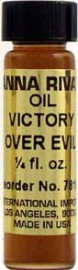 VICTORY OVER EVIL Anna Riva Oil qtr oz