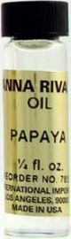 PAPAYA Anna Riva Oil qtr oz