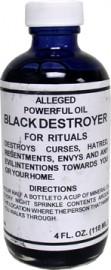 BLACK DESTROYER / NEGRO DESTRUCTOR OIL