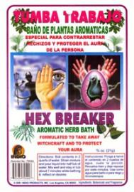 AROMATIC BATH HERBS HEX BREAKER