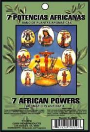 AROMATIC BATH HERBS 7 AFRICAN POWERS