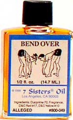 BEND OVER 7 Sisters Oil