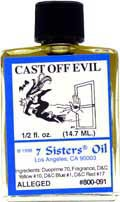 CAST OFF EVIL 7 Sisters Oil