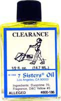CLEARANCE 7 Sisters Oil