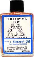 FOLLOW ME BOY 7 Sisters Oil