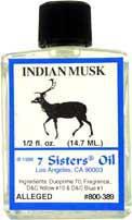 INDIAN MUSK 7 Sisters Oil