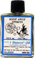 KEEP AWAY SPIRITS 7 Sisters Oil