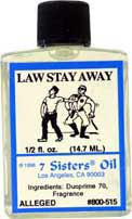 LAW STAY AWAY 7 Sisters Oil