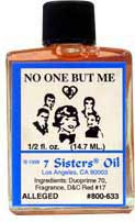 NO ONE BUT ME 7 Sisters Oil - Welcome to The Magick Wicca