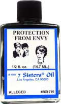 PROTECTION FROM ENVY 7 Sisters Oil