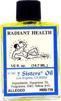 RADIANT HEALTH 7 Sisters Oil