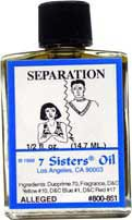 SEPARATION 7 Sisters Oil