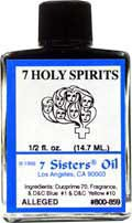 7 HOLY SPRIRITS  7 Sisters Oil