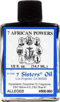 7 AFRICAN POWERS Mistic Oils