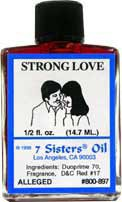 STRONG LOVE 7 Sisters Oil
