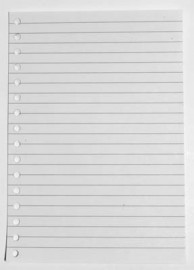 Replacement Paper for Lined Journals