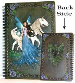 Fairy and Unicorn sketchbook