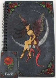 Crescent Moon Fairy Sketchbook