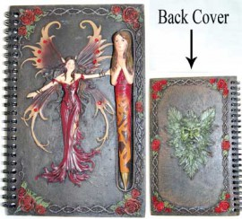 Red Fairy Sketchbook