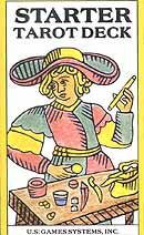 Starter tarot deck by Bennett & George