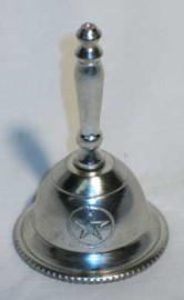 Altar Bell with Pentagram Design