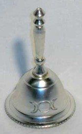Altar Bell with Triple Moon Design