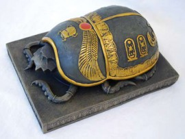 Egyptian Scarab Keepsake Box