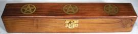 Pentagram Incense Holder