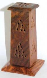 Wooden Pillar Cone Incense Burners