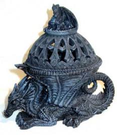 Dragon Pentagram Incense Holder