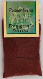 Dragons Blood Powder Incense 1618 gold