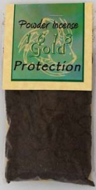 Protection Powder Incense 1618 gold