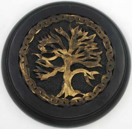 Wooden Tree of Life Altar Tile