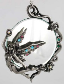 Hanging Fairy Mirror